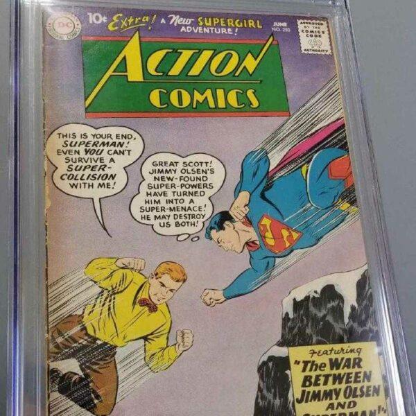 Action Comics #253 CGC 3.0