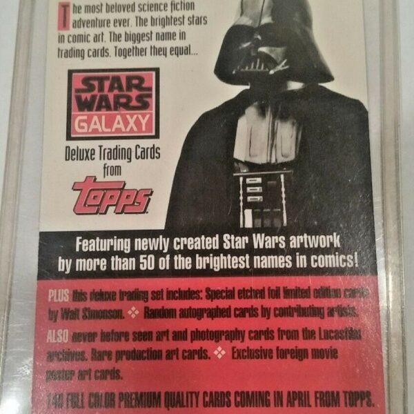 Jabba the Hutt from Topps Star Wars Galaxy Promo Card , 1993