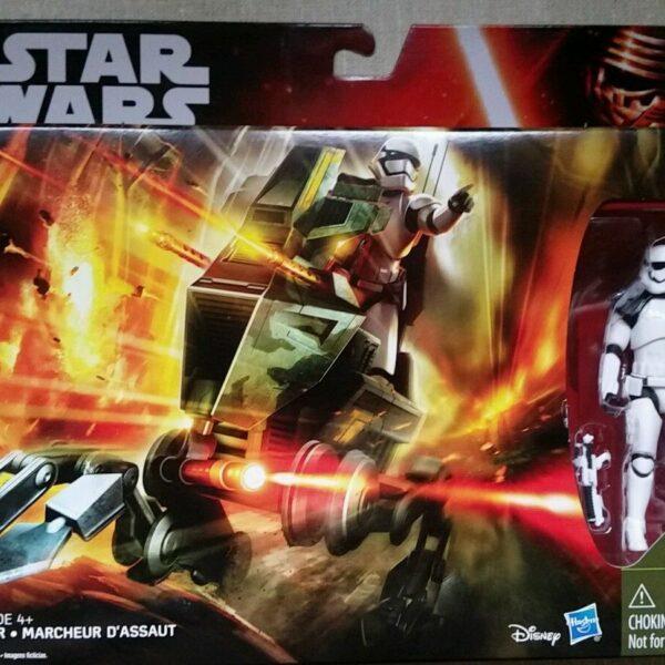 Star Wars Assault Walker with Stormtrooper Sergeant 3.75″