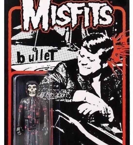 The Misfits JFK Bullet Blood Splatter Fiend Super7 ReAction Figure
