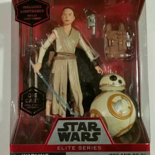 Star Wars Rey and BB-8 Elite Series 6″ Action Figure