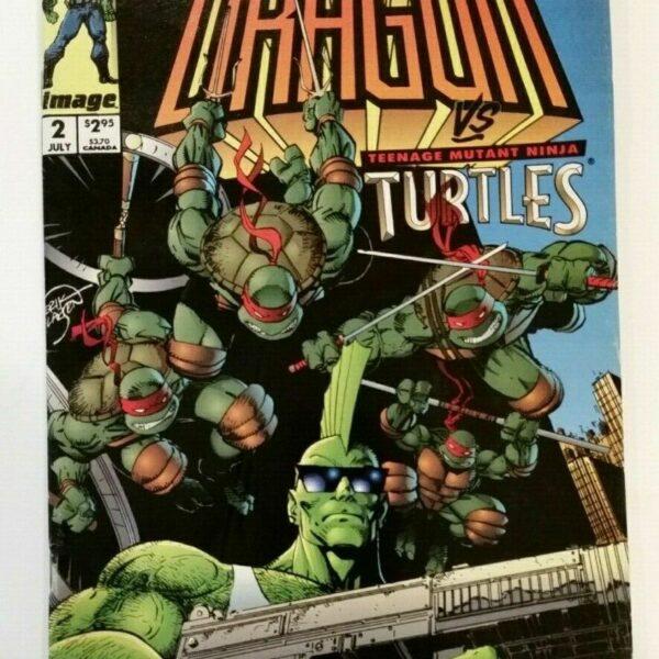 The Savage Dragon vs. Teenage Mutant Ninja Turtles Comic #2
