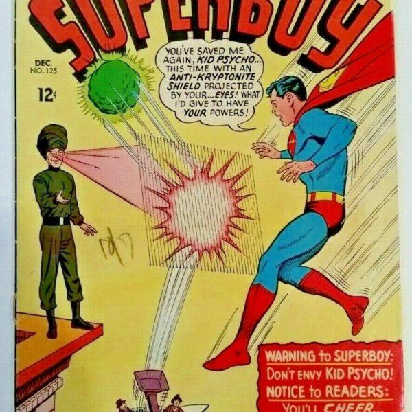 Superboy Comic #125