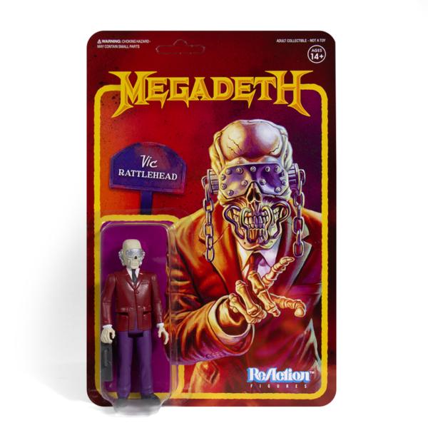 Megadeth Vic Rattlehead ReAction Figure
