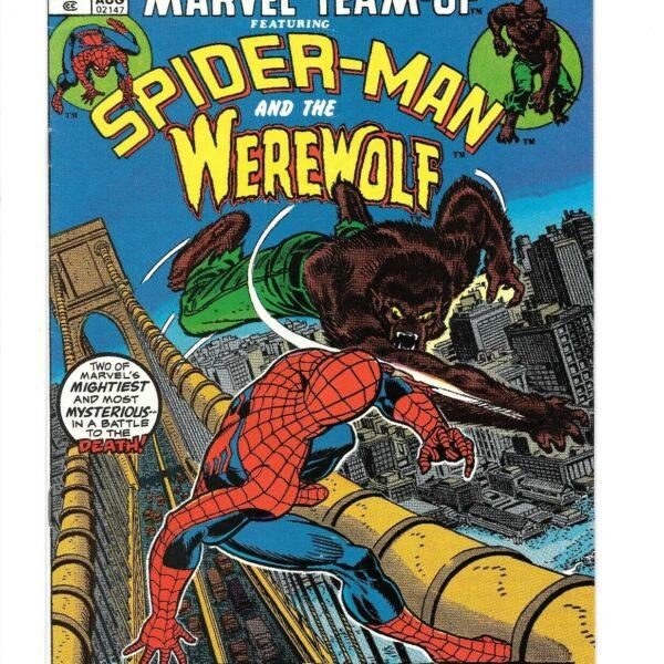 Marvel Team-Up Spider-Man and the Werewolf Issue #12