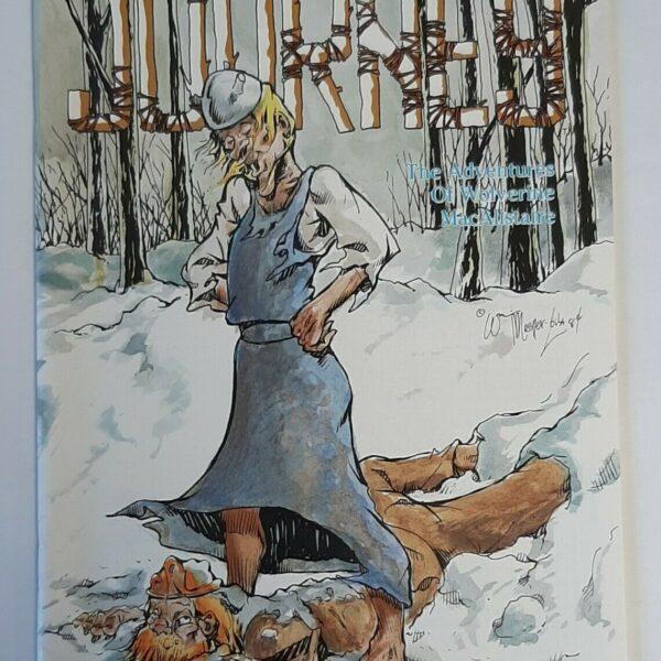 Journey Comic #17, Aardvark-Vanaheim (Jun 1985)