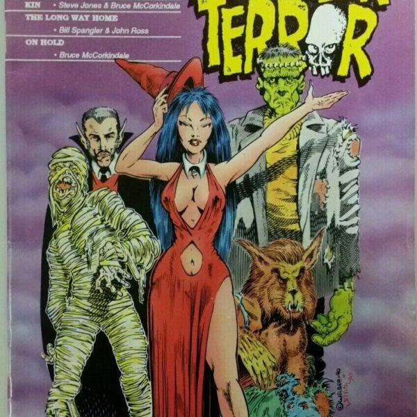 Halloween Terror Comic #1, Eternity Comics