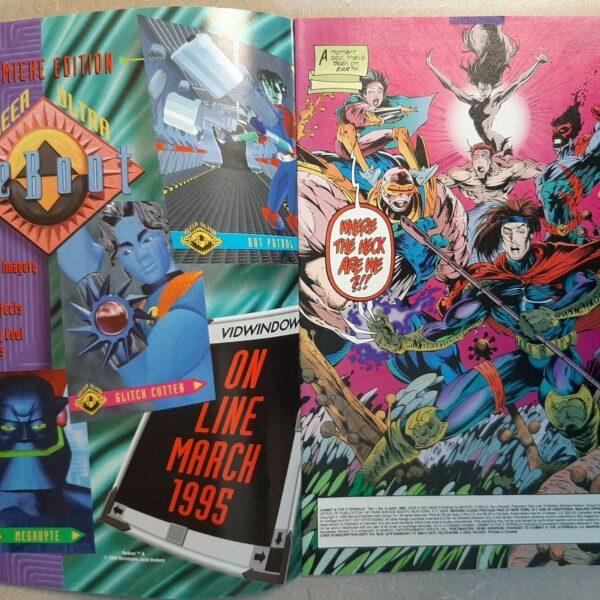 Gambit and the X-Ternals Comic #2, Marvel Comics (Apr 1995)