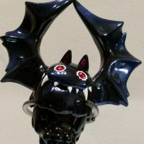 INSTINCTOY Bat Liquid Sofubi in Nightmare Black